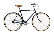 Creme Caferacer Doppio Cityfiets Heren 7-speed, dynamo blauw